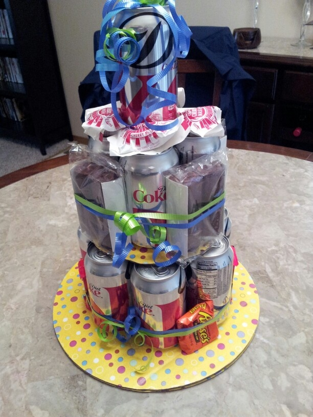 How To Make A Coke Can Cake