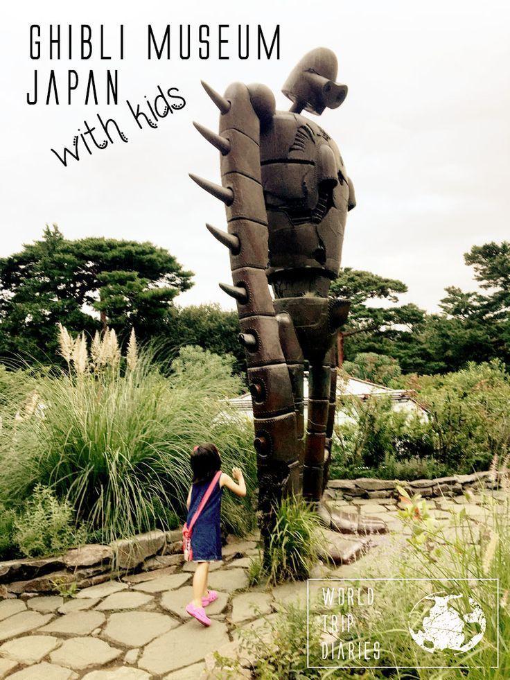 Our trip to Ghibli Museum, Japan - World Trip Diaries
