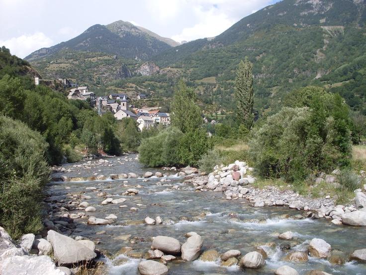 Río Cinqueta, Valle de Chistau, Huesca