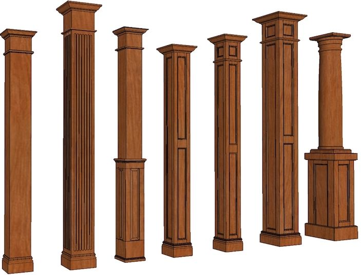 The 25 best square columns ideas on pinterest diy for Craftsman columns