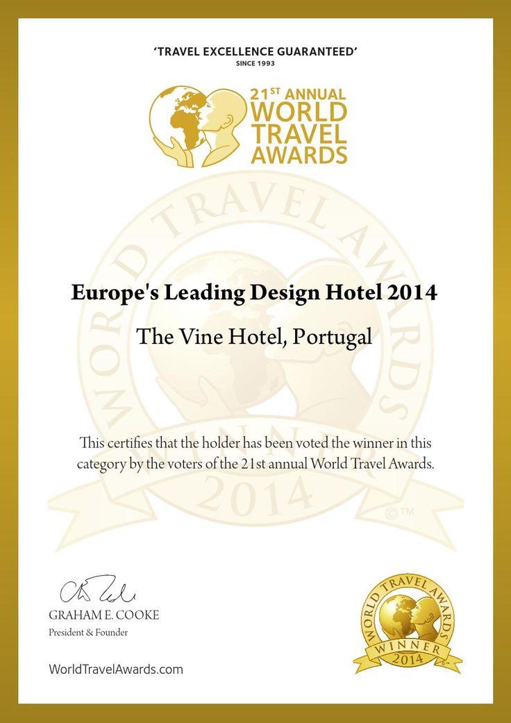 Europe's Leading Design Hotel 2014