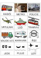 Tak TROCHU ... jiný svět: Dopravní prostředky - globální čtení, piktogramy
