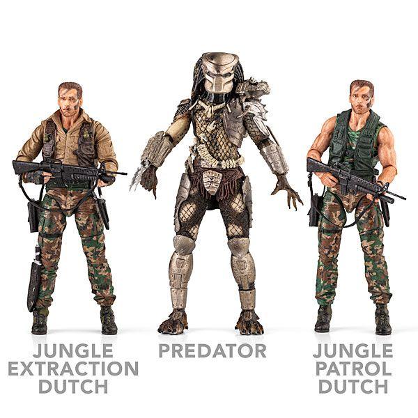 ThinkGeek :: 25th Anniversary Predator Action Figures