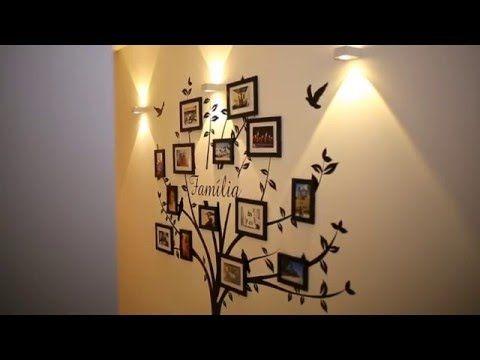 Adesivo Decorativo de Parede de Árvore com Molduras - FAMÍLIA - Frete Grátis para todo o Brasil