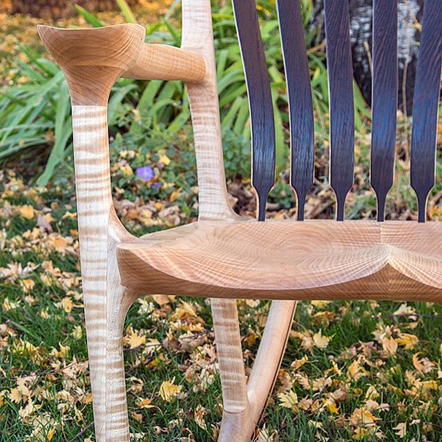 This Chair Was Built During My 1on1 10 Day Build Your Own Sculpted Rocking  Chair Course. Build Your OwnRocking ChairsFine FurnitureWoodworkingDallasRocking  ...