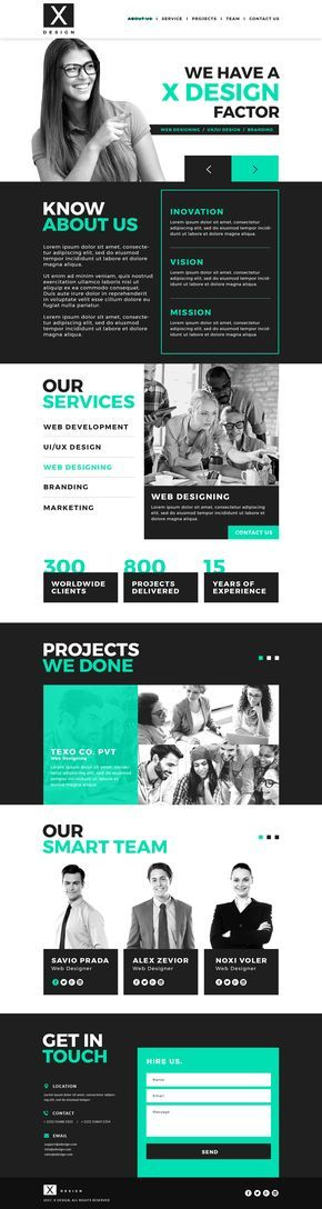 X design is a well designed PSD web template with modern and fresh look.This template can be used to design portfolio, websites, This is unique,creative and best solution for your project. PSD file is well structured and organized.X design corporate PSD template is built with 1170 grid system.You can create your own HTML template using this design. X design guarantees that your project will look attractive and will match all upcoming trends in UI & UX designs of industry.