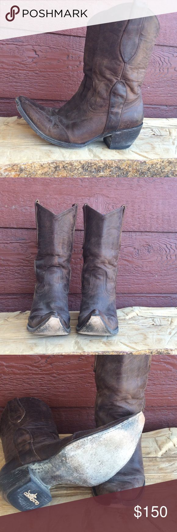 Old gringo brown cowboy boots Old gringo brown cowgirl western boots in great condition. These are genuine leather with leather soles as well. Old Gringo Shoes Heeled Boots