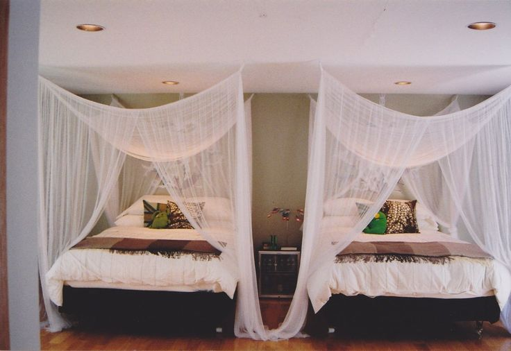 Create a Summer Escape with Mosquito Netting