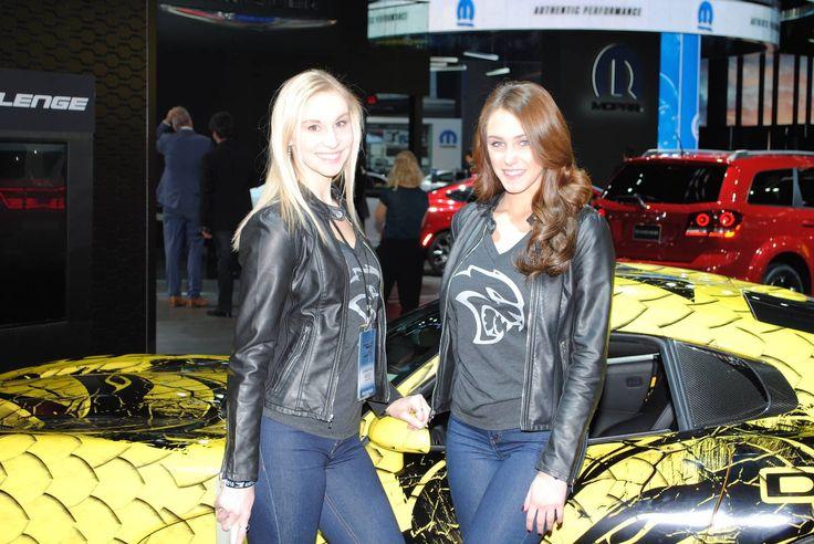 2016 Detroit Motor Show – The Girls