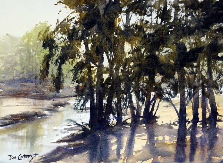 Watercolor paintings for sale by Joe Cartwright