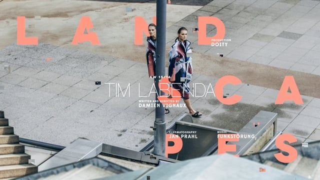 LANDSCAPES  for Tim Labenda AW15/16 collection A creative take on the theme of nostalgia.  Director / edit / post : Damien Vignaux assisted by : Jacqueline szymczak DOP : Jan PRAHL Original music : Funkstörung (Michael Fakesh and Chris de Luca) Producer : annika lange for DOITY Voice Over : Valentine Romanski Gaffer : Oliver Schorch Electrician: Toni Schultz AC : Giovanni Zeitz Runner : Mattias Kirsche  Wardrobe : Tim Labenda Styling : Sophia Schwan MAKE-up artist : yvonne wengler…
