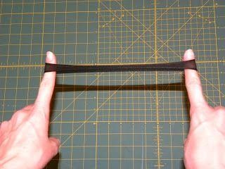 A Load Of Craft: Tutorial: How To Make Skinny Nylon Headbands