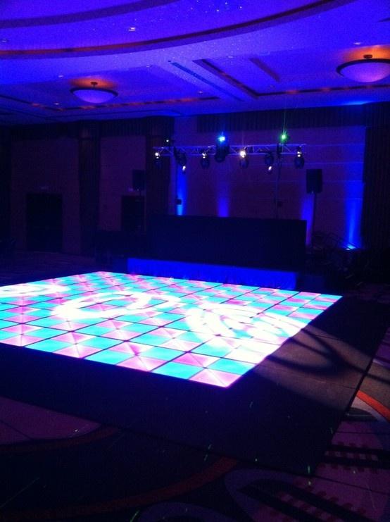 LED Dance Floor Loews Hotel Philadelphia