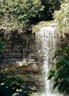 Rock Chapel Falls, Hamilton