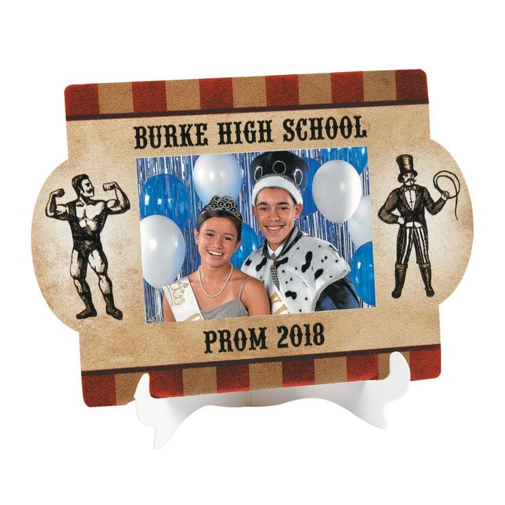 Personalized Vintage Circus Picture Frames