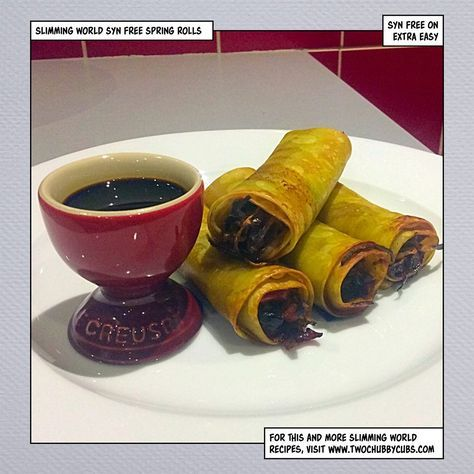 This recipe for slimming world spring rolls is syn free and relatively simple to make - you can also use canneloni tubes. Remember, at www.twochubbycubs.com we post a new Slimming World recipe nearly every day. Our aim is good food, low in syns and served with enough laughs to make this dieting business worthwhile. Please share our recipes far and wide! We've also got a facebook group at www.facebook.com/twochubbycubs - enjoy!