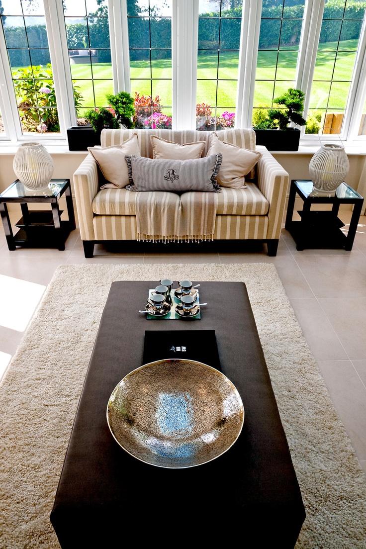 Summer living. #interior #design #summer #home  - By Alexander James Interiors