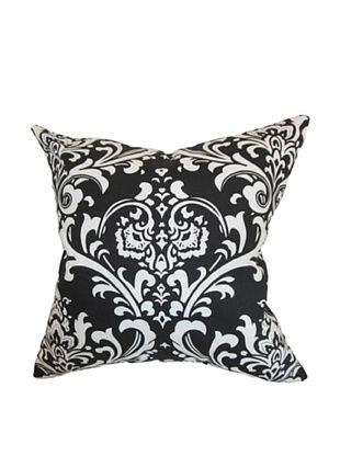 57% OFF The Pillow Collection Malaga Damask Pillow, Black
