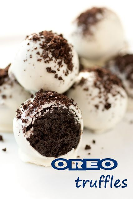 Three ingredient Oreo Truffles - these are always the first thing to go at parties! Perfect recipe to have for the hectic holidays.