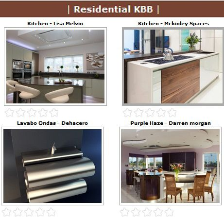 Finalists of the SBID International Design Awards 2013 for the Residential KBB Category