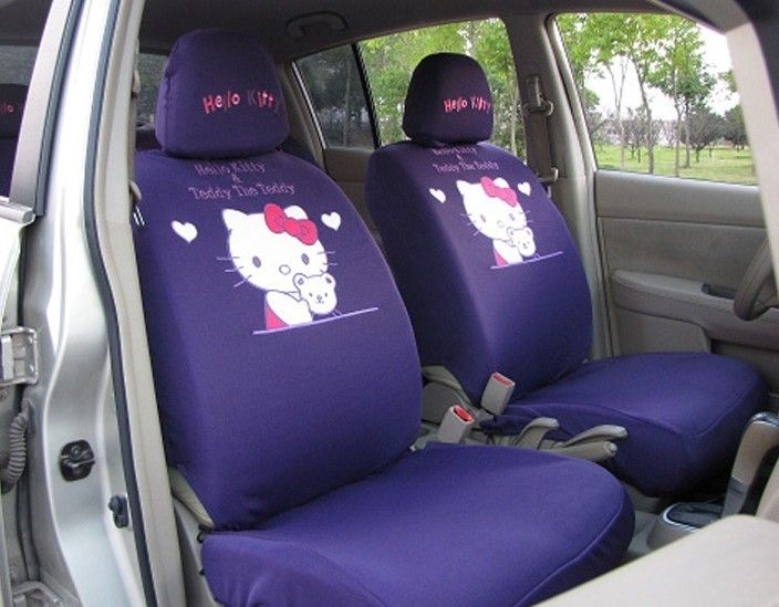 Hello Kitty Car Seats Covers For A  Honda Civic