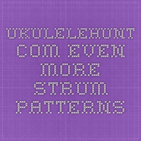 69 best ukulele images on pinterest ukulelehunt even more strum patterns fandeluxe Image collections
