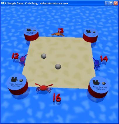 A Sample Game: Crab Pong