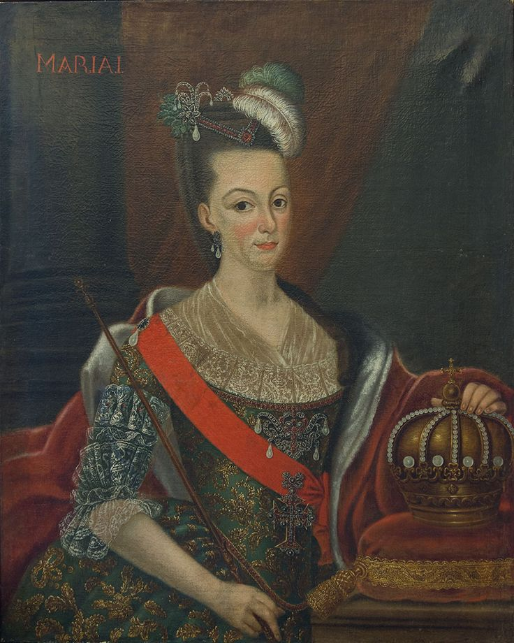 Par de quadros representando o Rei D. Pedro III e a Rainha Dona Maria I de Portugal - Galeria de Arte e Antiguidades Lisboa - Arte asiática,...