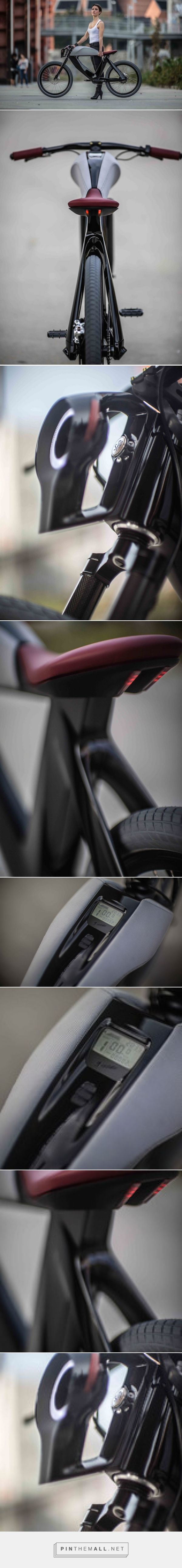 Black Electric Bike – Fubiz Media - created on 2015-07-17 18:53:02