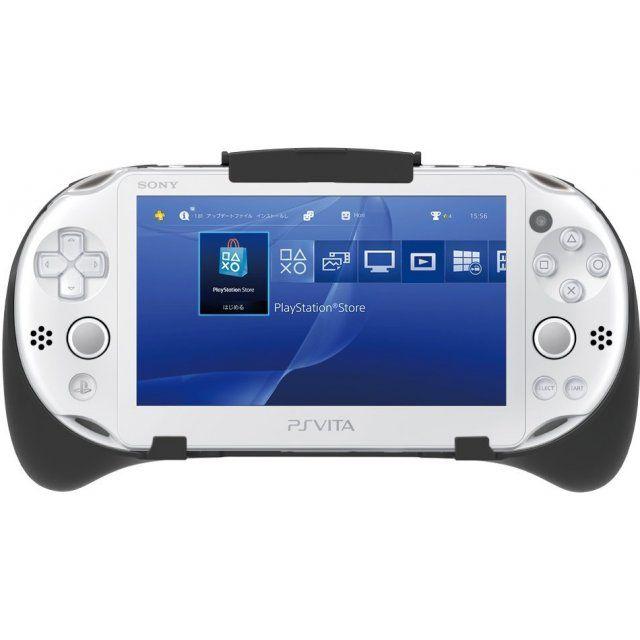 Remote Play Assist Attachment for Playstation Vita Slim * In stock, usually ships within 24hrsリモートプレイを快適操作。リモートプレイ専用設計。PlayStationVitaの背面タッチパッドのL2ボタン、R2ボタン、L3ボタン、R3ボタンをボタンで操作�ることで、正確に入力できま�。PlayStationVita本体を固定�る箇所には、ゴム素材を採用しました。また、PlayStationVita本体の上部を固定�る箇所を可動式フックに�ることで、無理なく簡単に本品を着脱でき、傷つきにくい安心設計にしました。装着�に使用できる機能。電源のON-OFF、USB端子、ヘッドホン/マイク端子、前面カメラ、平面カメラ、VOL+ボタン/VOL-ボタンFollowing the release of similar products, HORI have confidently stepped into the ring with their newly announced &#...