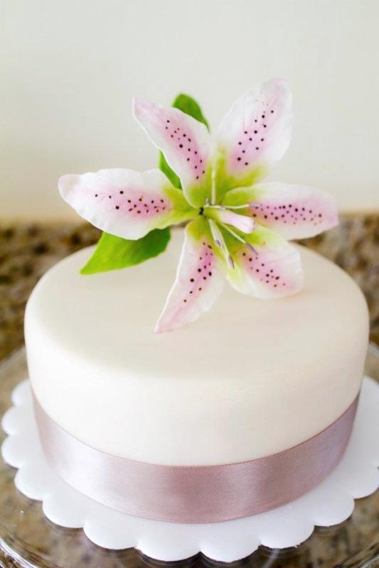 Flor de azucar.   Que Ricos queques artesanales