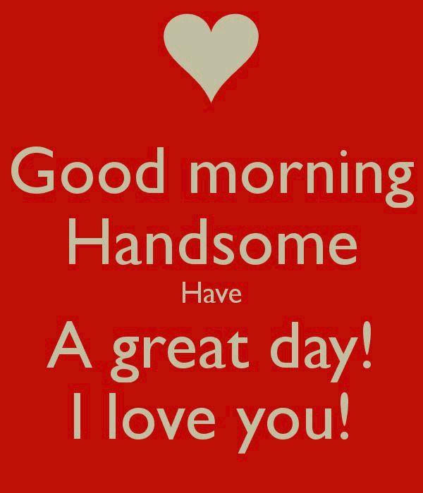 Buenos días mi amor ❤️