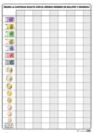 ACTUALIZACIÓN: He modificado y añadido algunas mejoras a las plantillas originales, que siguen disponibles al final del artículo, y también las he subido sin color gracias a los gráficos deSergio PalaoProcedencia:ARASAAC(http://catedu.es/arasaac/)con Licencia:CC (BY-NC-SA) Plantillas en vertical y horizontal para expresar cantidades de euros. Los billetes y monedas están ordenados de …