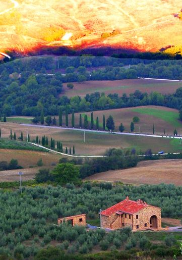 Tuscany morning ~ Italy