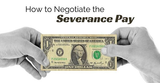 how to ask for more severance pay