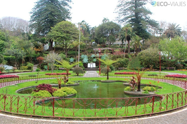 Jardín Botánico de Angra do Heroísmo, Terceira, Azores, Portugal