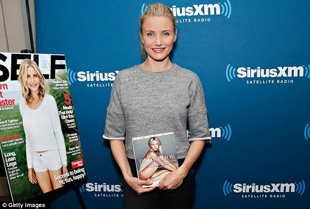 Don't call girls 'pretty': Cameron Diaz says young women under too much pressure to look good as she publishes new book 41-year-old star authored The Body Book which shares her own struggles She imparts her wisdom on how to cram exercise into a busy schedule Actress said she wishes that women would let other women age gracefully