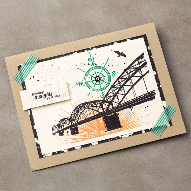 141951----(like the bridge) Wherever You Go Clear-Mount Stamp Set by Stampin' Up!