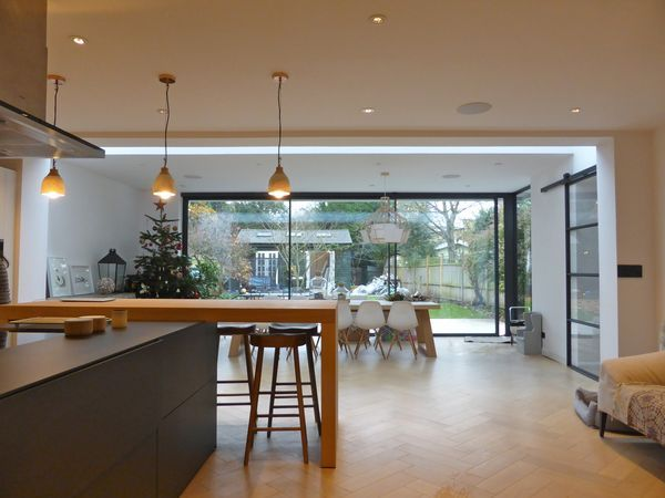 VC Designs latest completed kitchen extension   Style