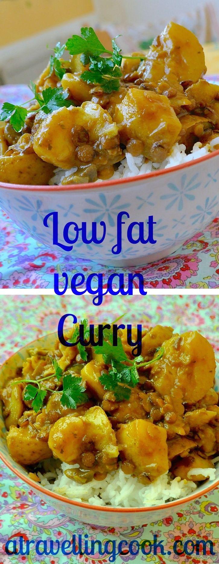 Tasty low fat vegan veggie curry ~ #MeatFreeMonday #MeatlessMonday