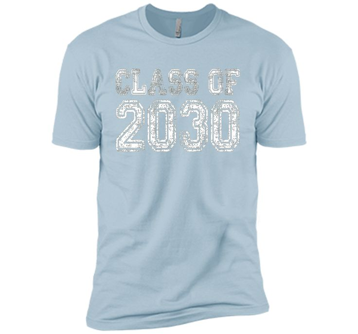 Class of 2030 - Vintage/Retro Future Graduate Tee Shirt