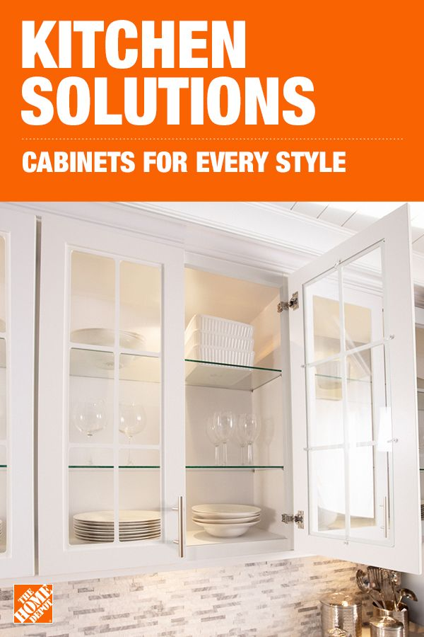Complete Your Kitchen Renovation With The Home Depot In 2020 Cabinet Makeover Cabinet Styles Dream Kitchens Design