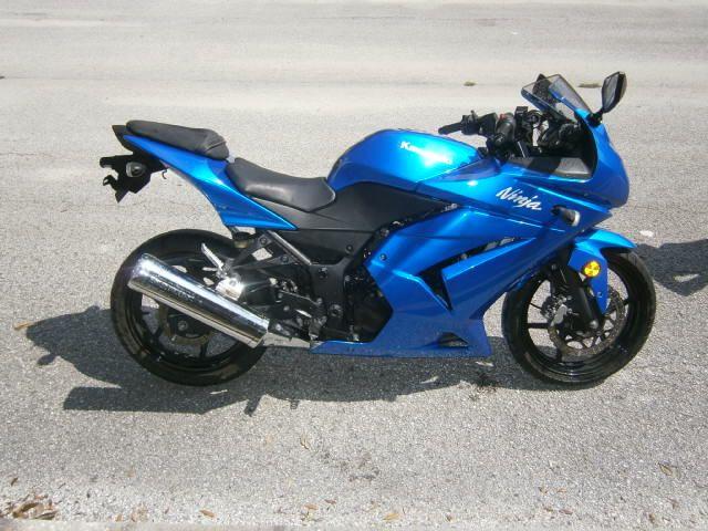 2008 KAWASAKI NINJA MOTORCYCLE