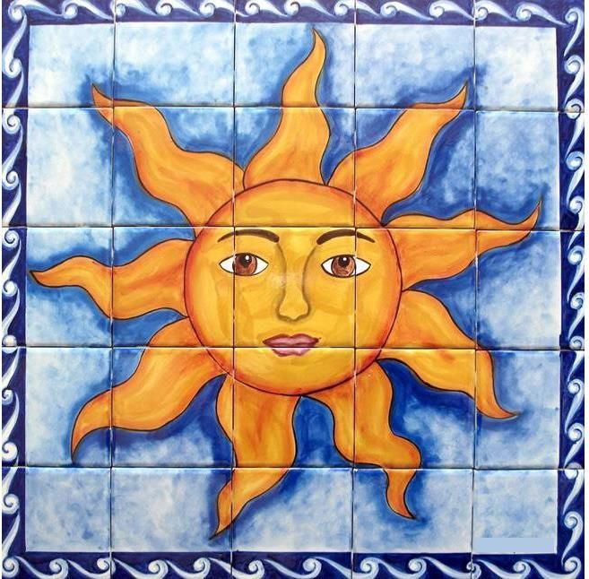 Mexican Tile Tucson | Southwest Mexican Tile Murals, LLC.  http://www.swmtm.com/Portraits.html