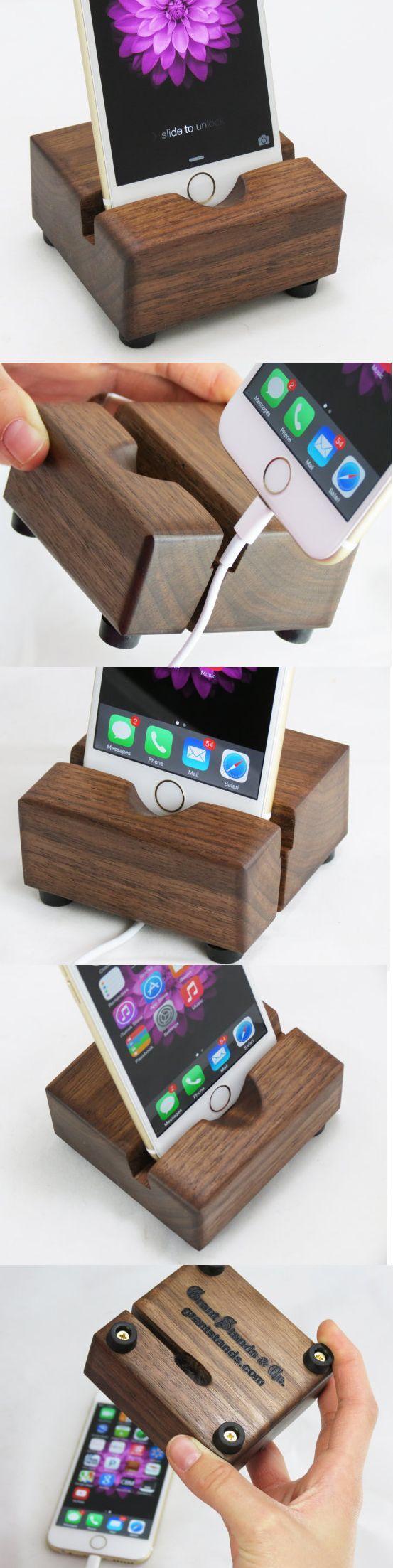iPhone 6 Docking Station - Black Walnut                                                                                                                                                     More