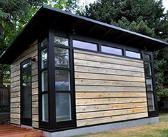 Design and build your own Studio Shed with our 3D Configurator tool. Our modern, prefab sheds are perfect for your backyard studio or custom home office.