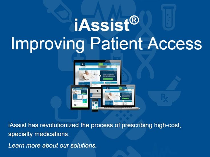 iAssist improves patient care by increasing the speed to delivery of specialty medications. Health care providers can begin the prescription process at the point of care.