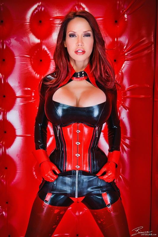 bianca latex fetish - Bianca Beauchamp In Red @ Black Latex