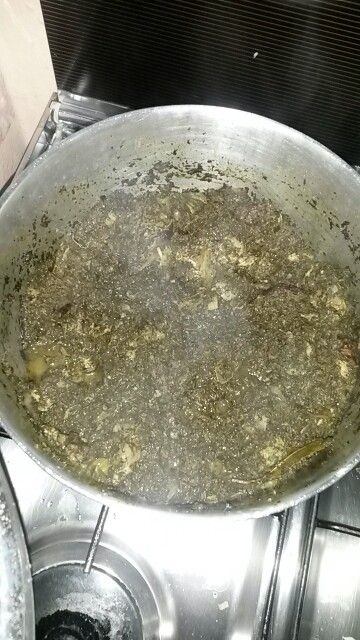 Feuille de manioc; saka saka
