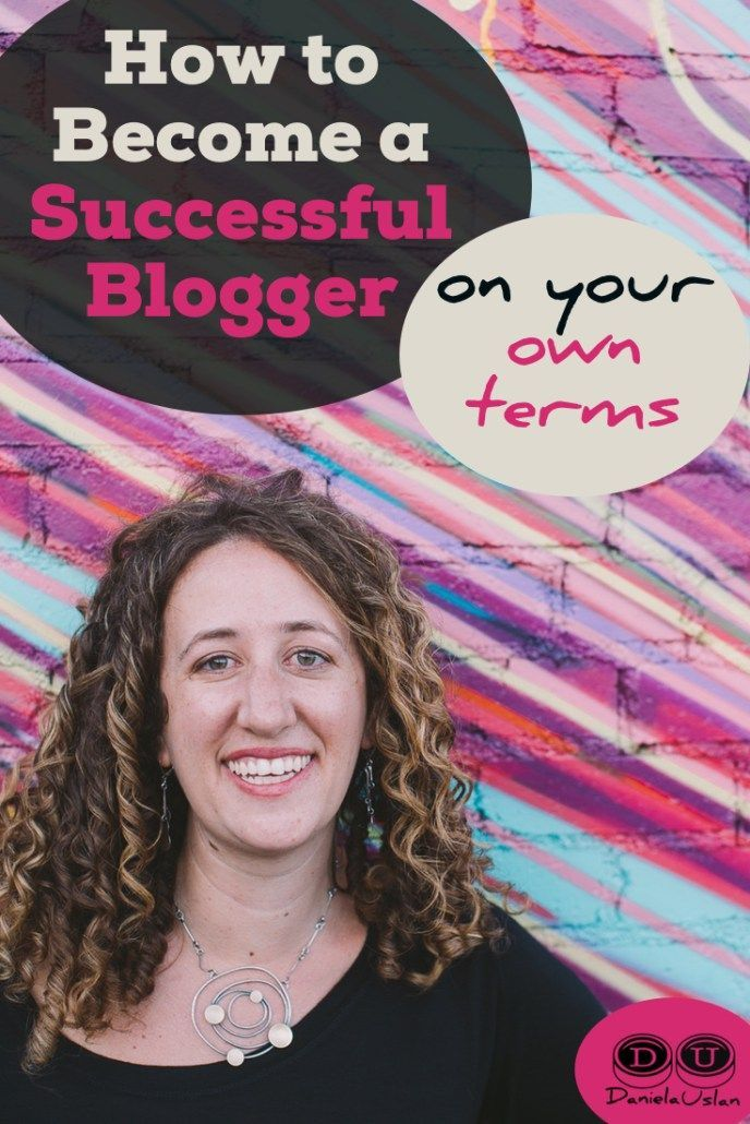 The whole point of blogging is to create a space online that's uniquely yours.  Here's how to become a successful blogger on your own terms. Read more: http://danielauslan.com/become-a-successful-blogger-on-your-own-terms/